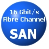 16 Gbit/s Fibre Channel SAN